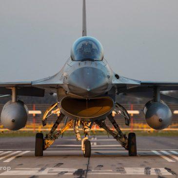 Nightshoot F-16 Vliegbasis Volkel