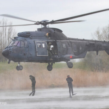 Oefening Helocasting KCT